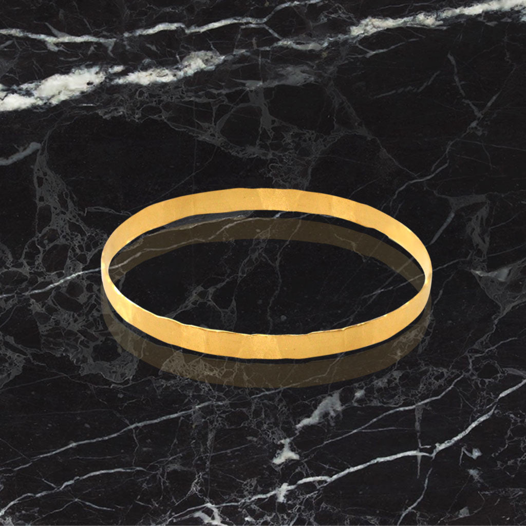 """Sophie"" Bangles - Gold Plated"