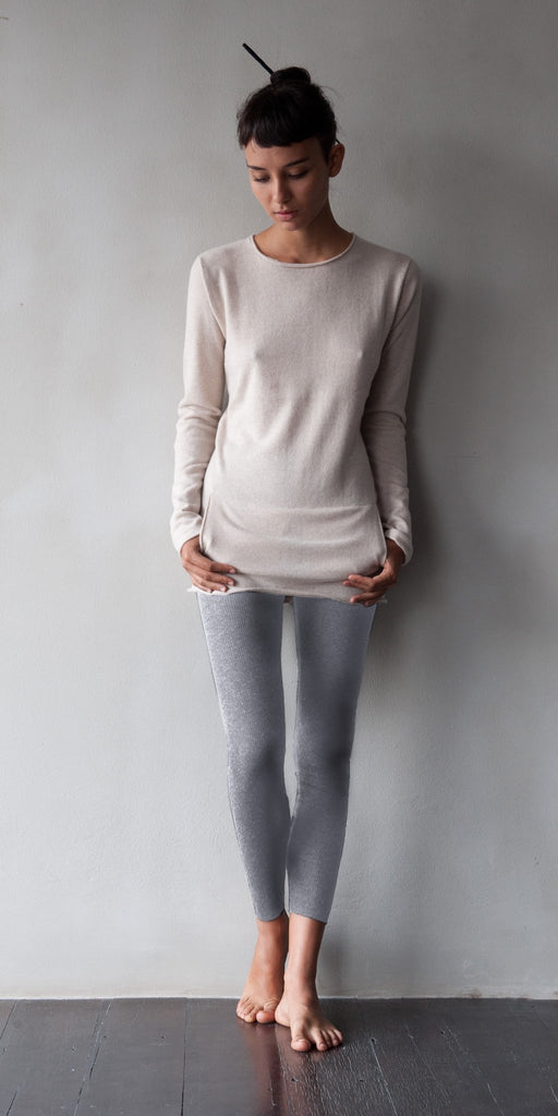 Superfine Cashmere Leggings  Womens Clothing