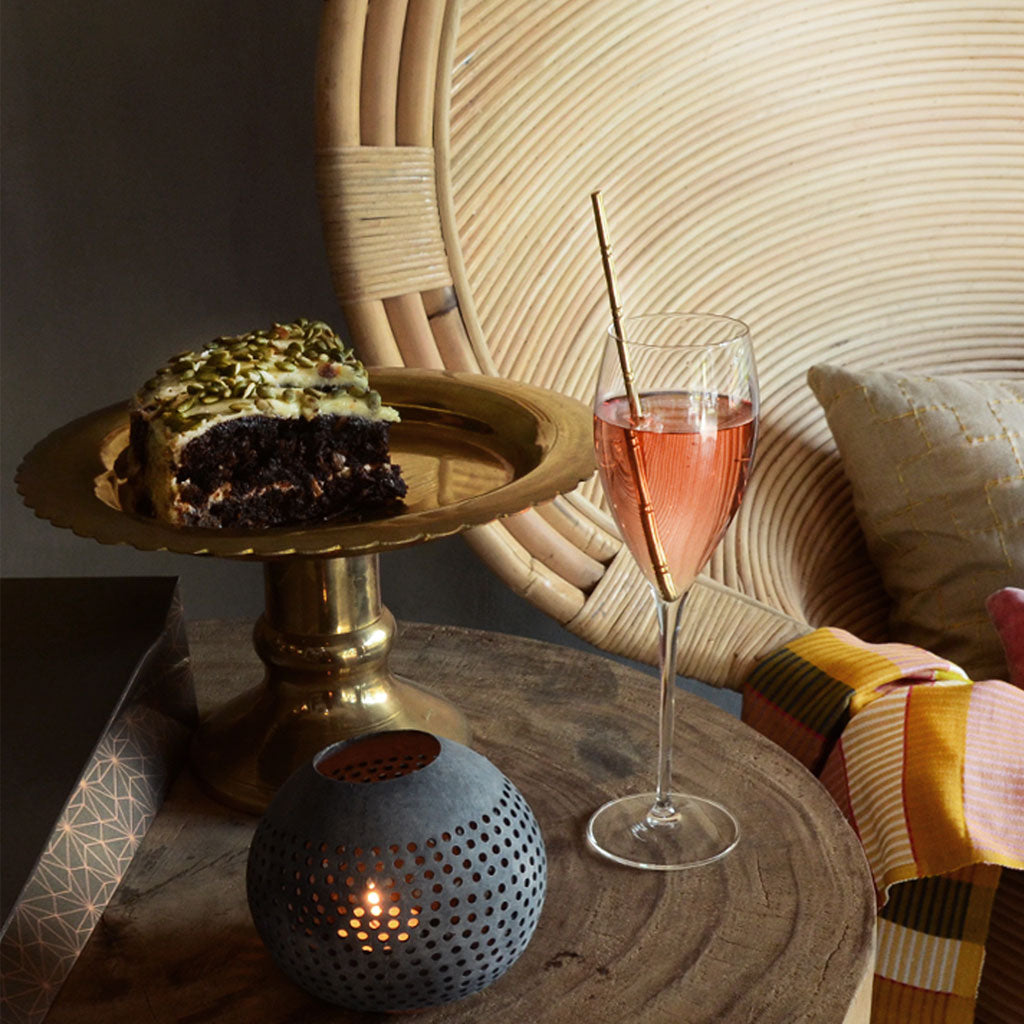 Brass Cake Stand  Home Decor