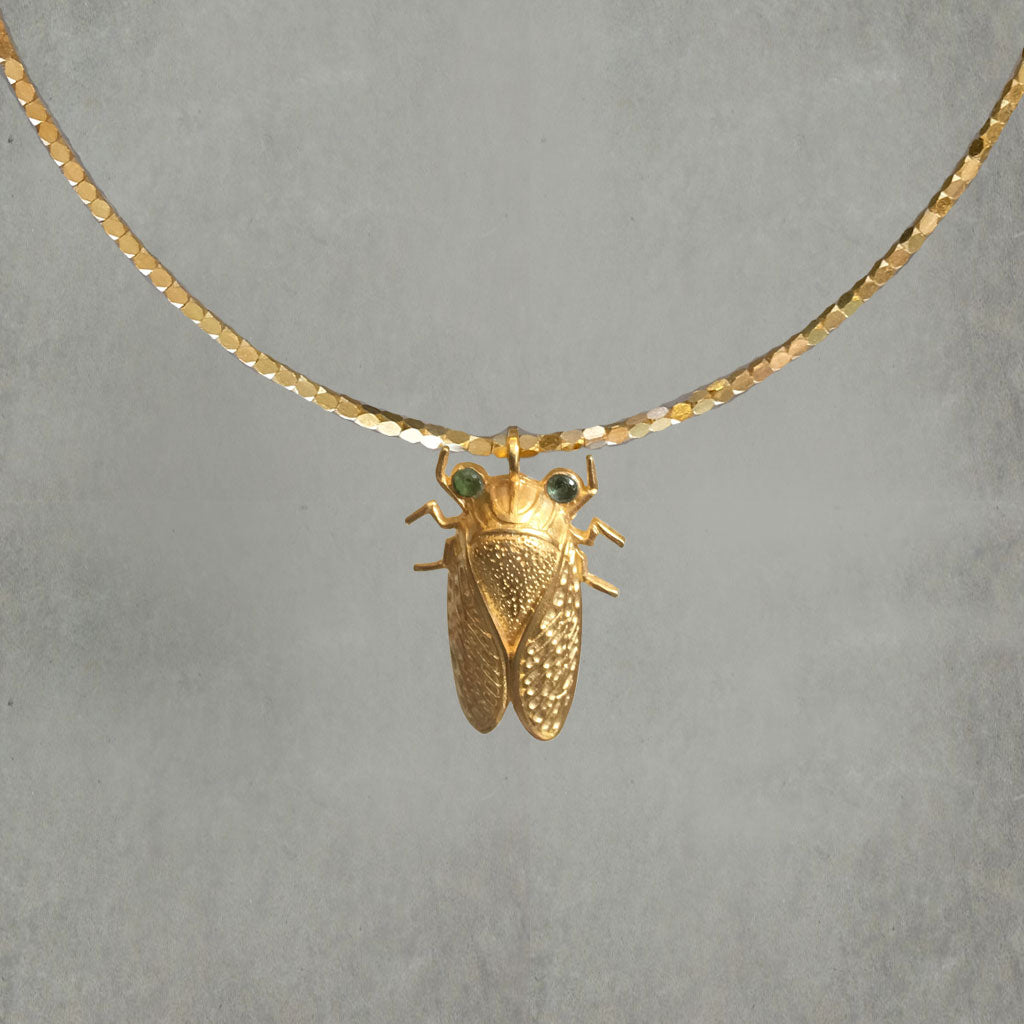 Cicada Necklace