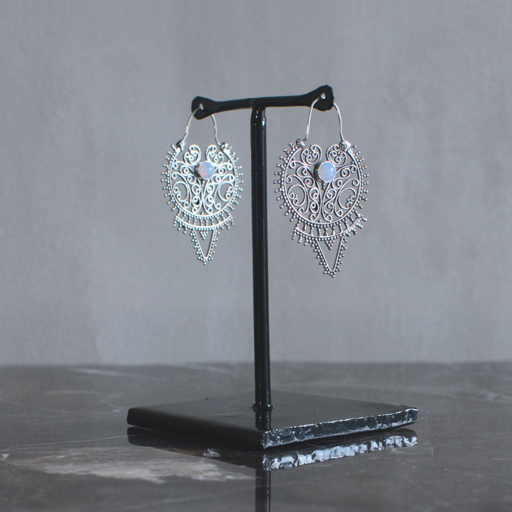 Fearless Earrings - Silver