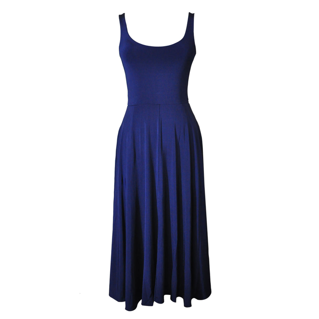 Natalia Dress - navy  Bottom
