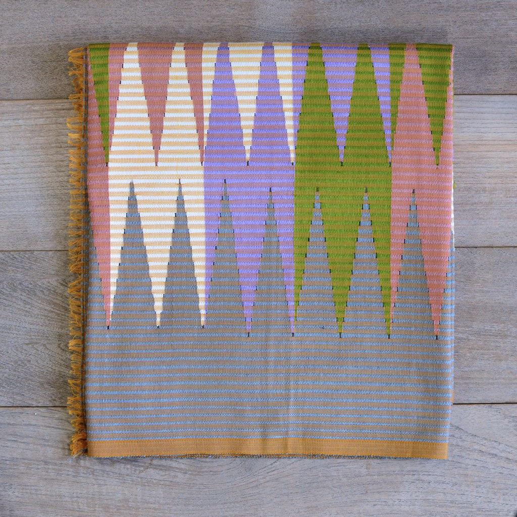 Rang Rang Cotton Throw - Mixed Zig Zag  Homewares
