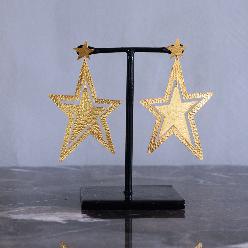 Sirius Earrings - Gold  Jewellery