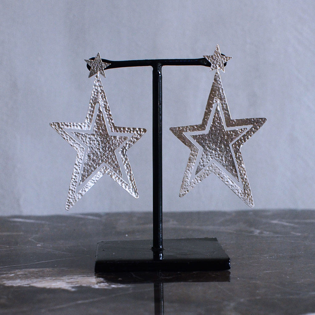 Sirius Earrings - Silver  Jewellery