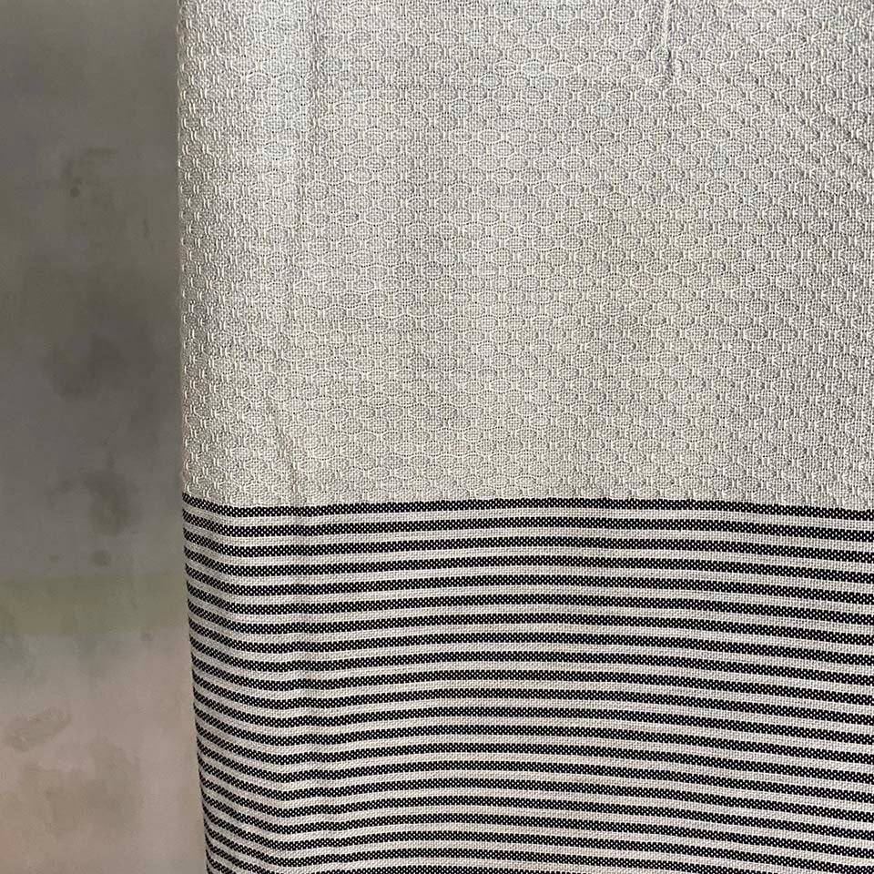 Tunisian Towel - Grey/ Slate  Homewares