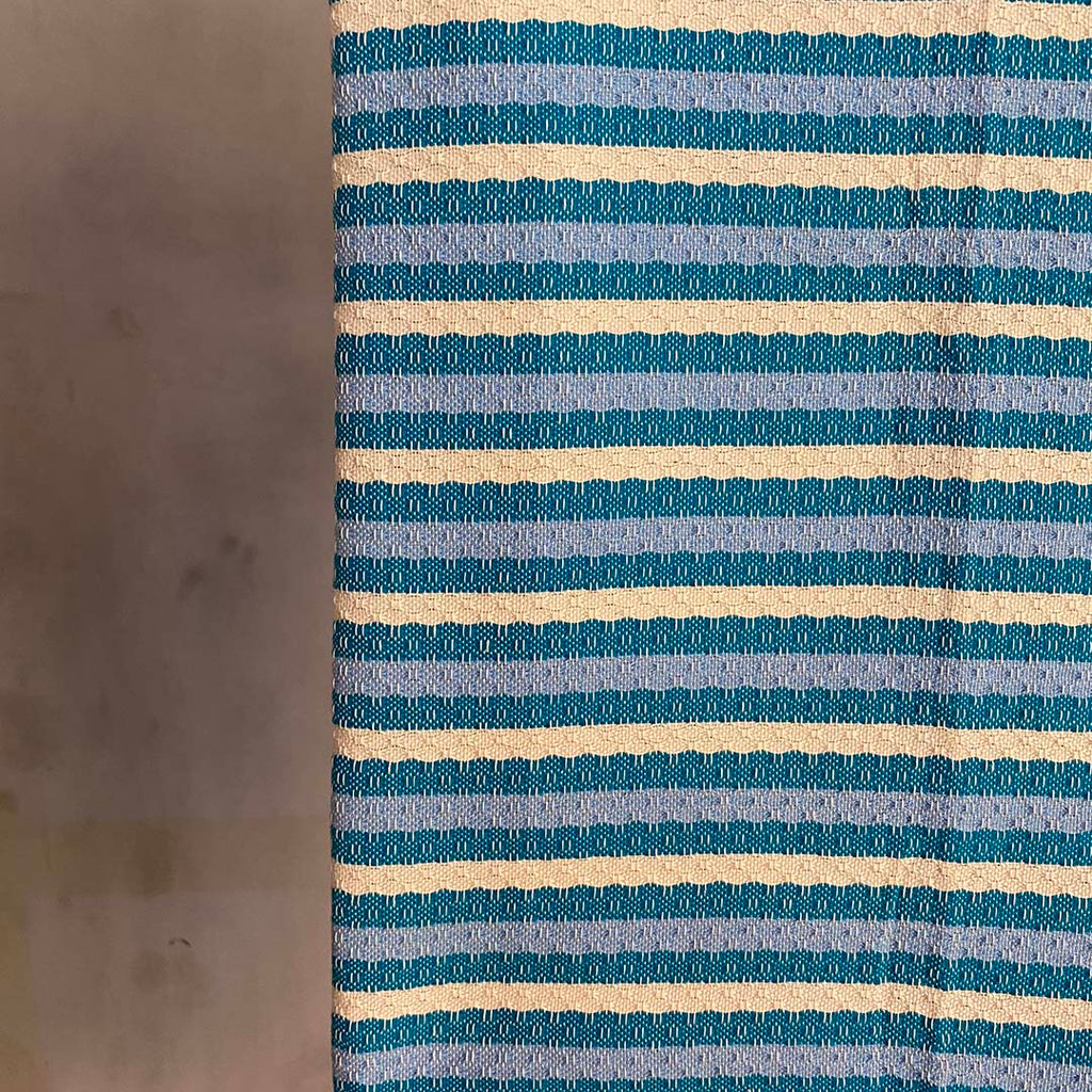 Tunisian Towel - Turquoise Aqua  Homewares
