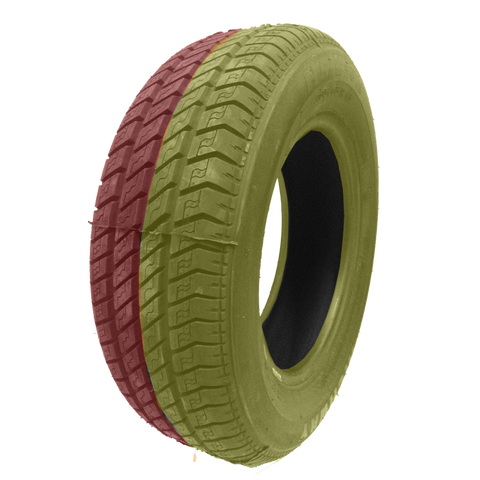 205/65R15 Highway Max - DUAL SMOKE Yellow & Red
