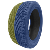 235/40R18 Highway Max - DUAL SMOKE Blue & Yellow