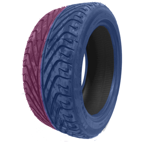 195/50R15 Highway Max - DUAL SMOKE Blue & Pink