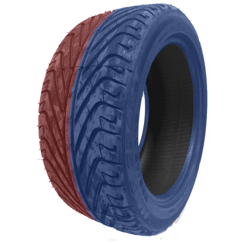 235/40R18 Highway Max - DUAL SMOKE Blue & Red