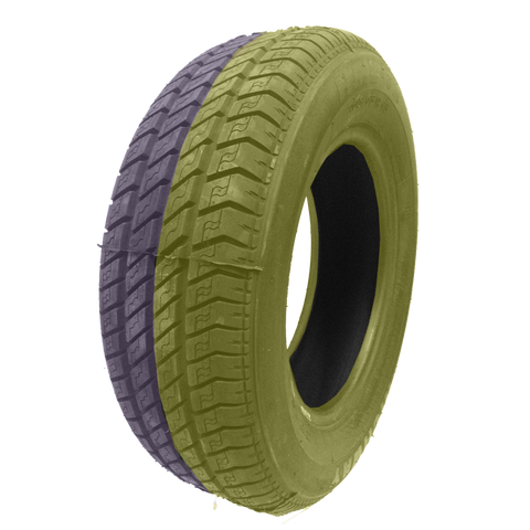 205/65R15 Highway Max - DUAL SMOKE Yellow & Purple