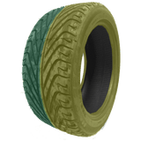 235/40R18 Highway Max - DUAL SMOKE Yellow & Green
