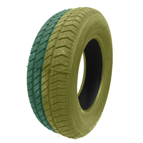215/60R16 Highway Max - DUAL SMOKE Yellow & Green