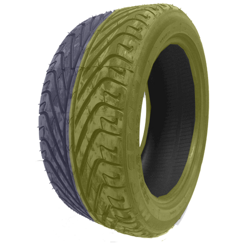 235/45R17 Highway Max - DUAL SMOKE Yellow & Purple