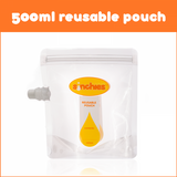Sinchies 500ml Reusable Food Pouch (10x500ml)