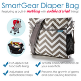 SmartGear diaper bag- Black