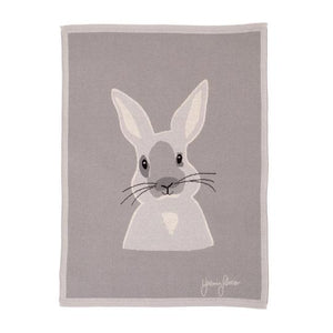 All4Ella | Knitted Blanket - Bunny