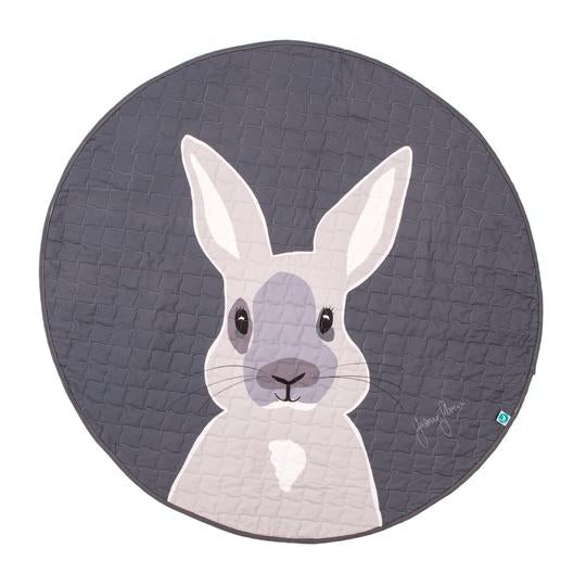 All4Ella | Round Play Mat - Bunny