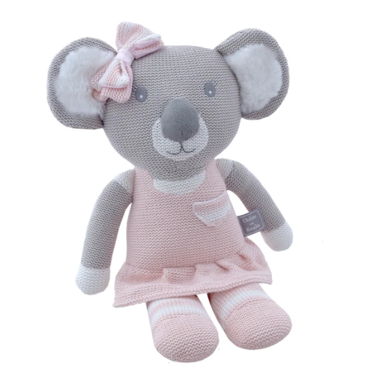 Living Textiles | Knitted Koala Toy - Chloe