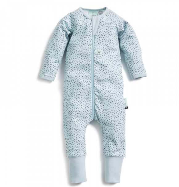 ergoPouch | Long Sleeve Layers Sleep Suit 0.2 tog - Pebble