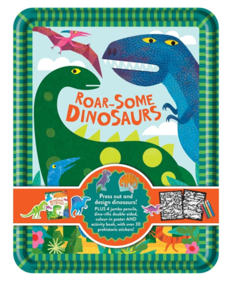 DInosaur Roar-Some Activity Tin & Gift Set