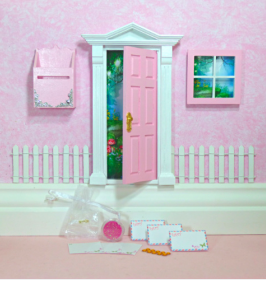 Opening Fairy Doors | Pink Fairy Door Set