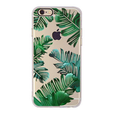CLEAR JUNGLE iPhone Case