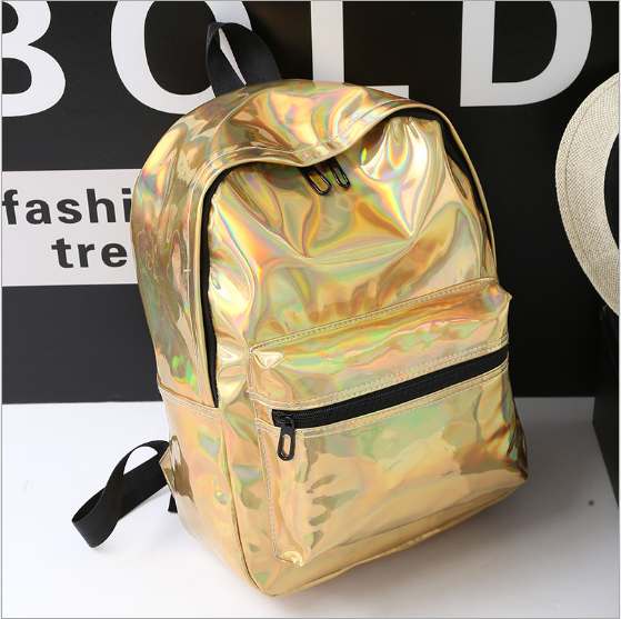 VEE Gold Holographic Backpack