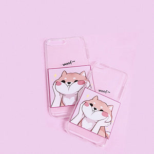 WOOF iPhone Case