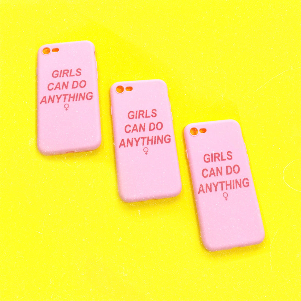 GIRLS CAN iPhone Case