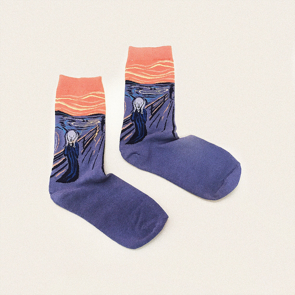 The Scream Socks