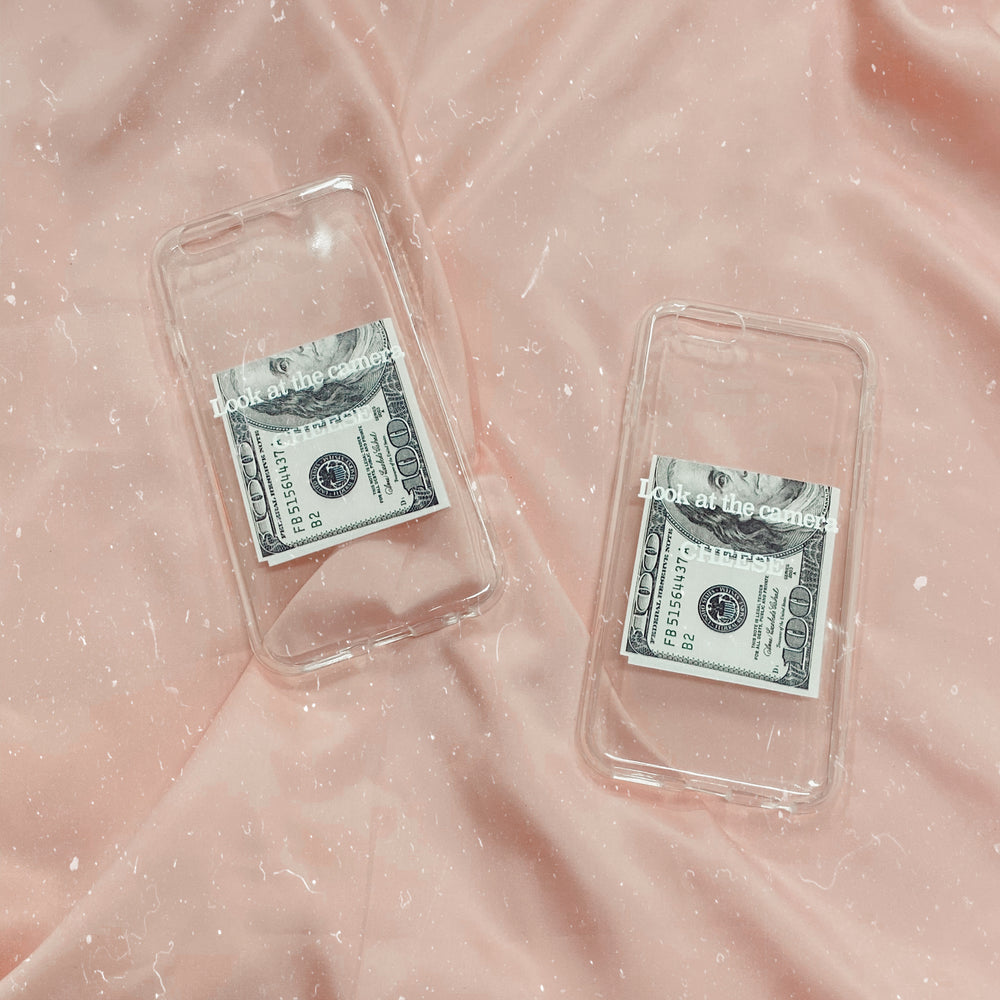 cheese money iPhone Case