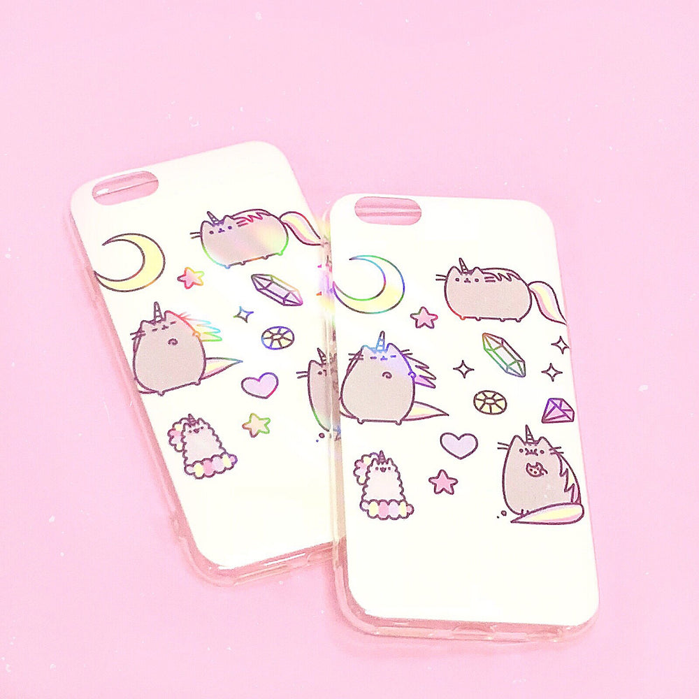 PUSHEEN MAGIC iPhone Case