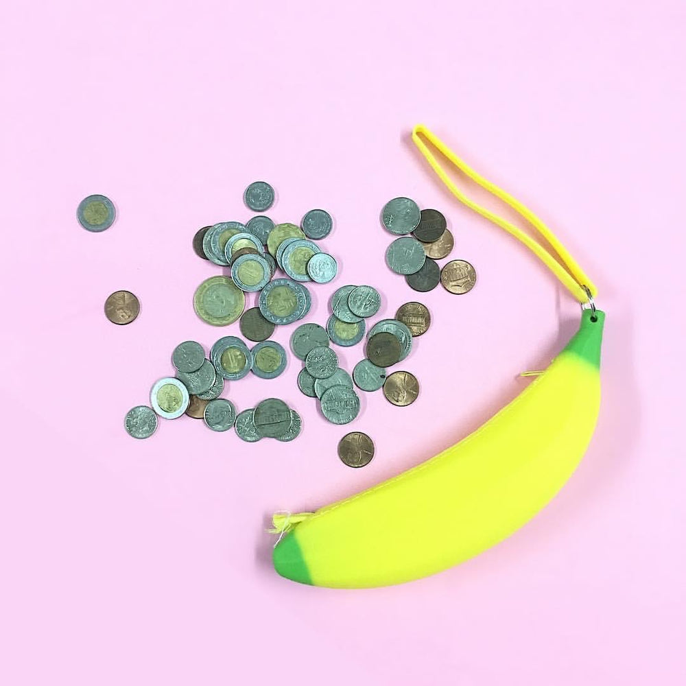 Banana Coin Bag