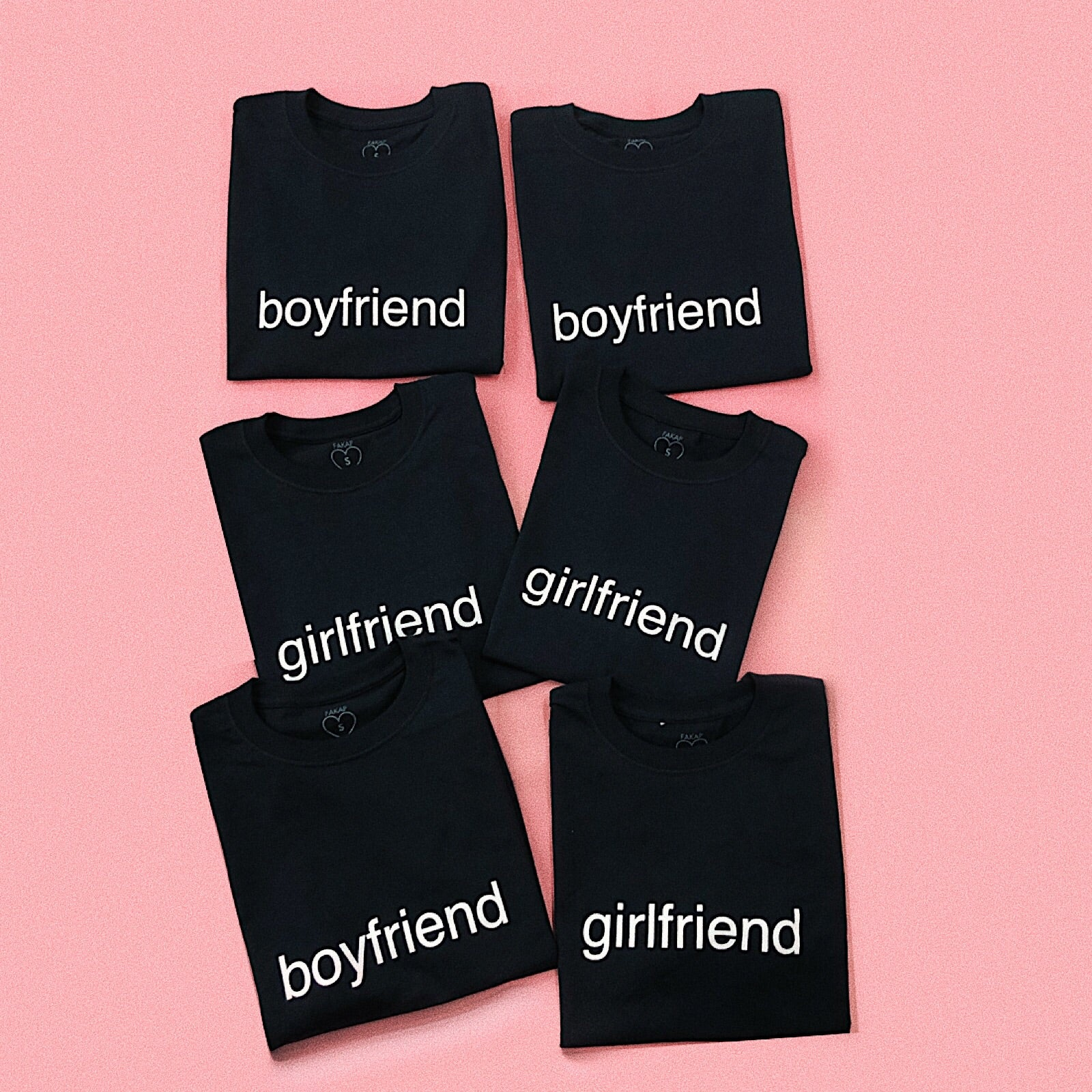 boyfriend girlfriend T-shirt