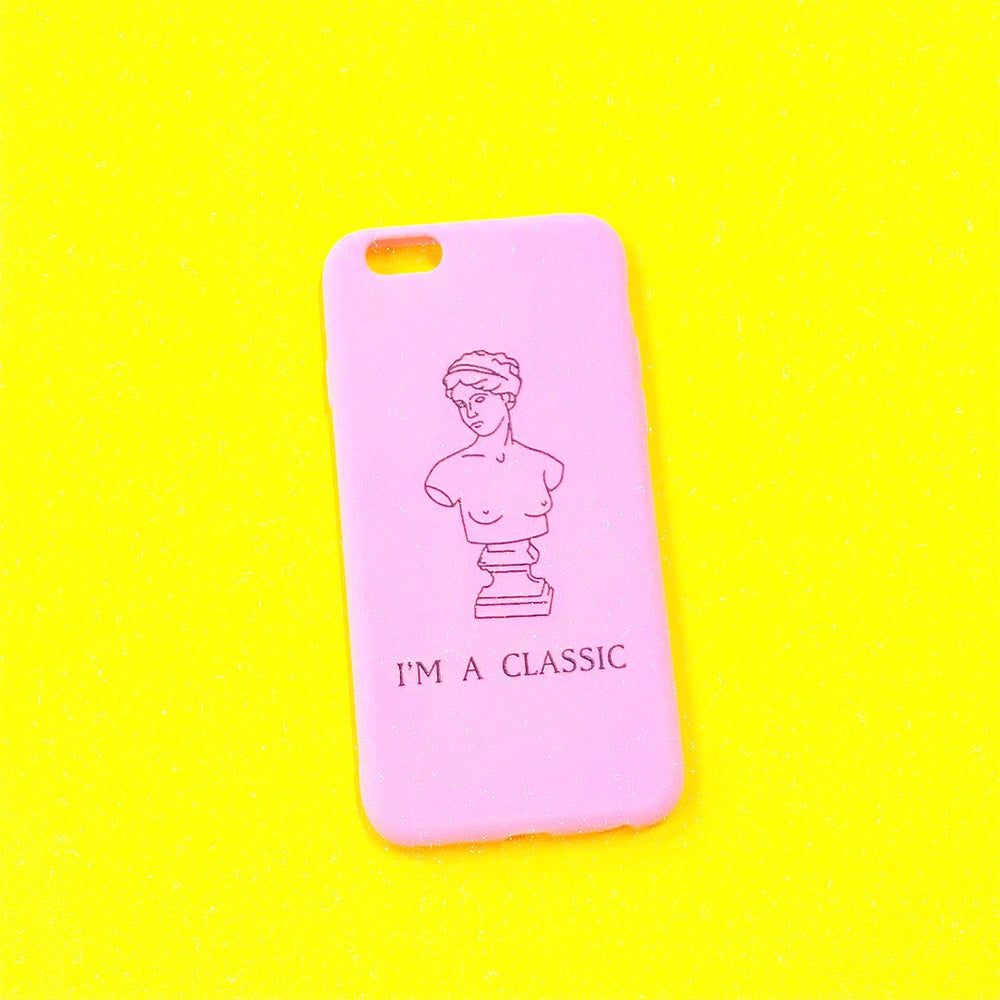 Pink CLASSIC iPhone Case