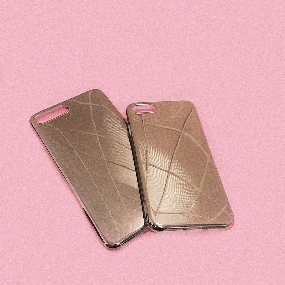 rose gold miralle iPhone Case