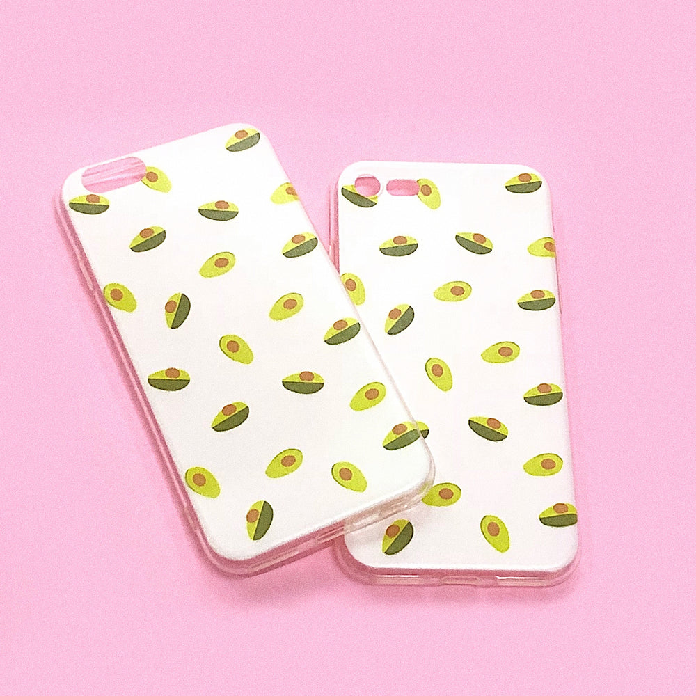 WHITE AVOCADO iPhone Case