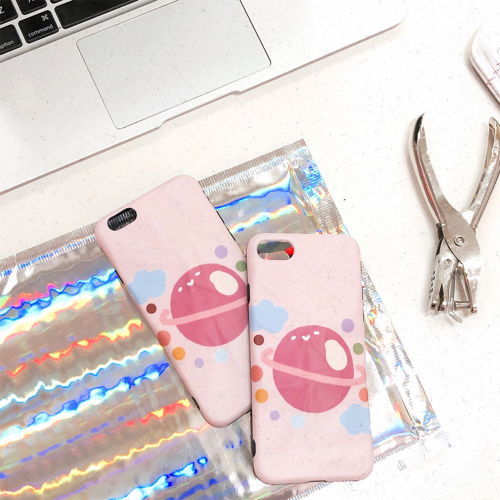 Baby Pink Planet iPhone Case