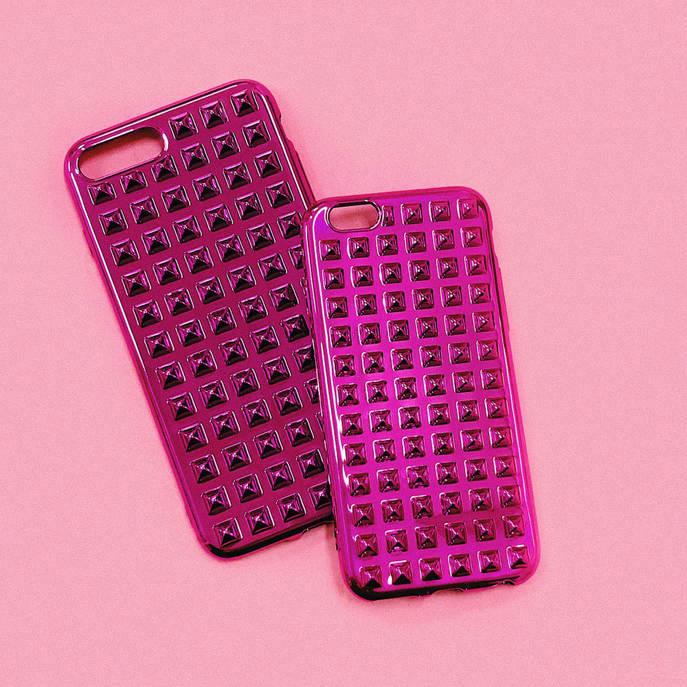 PUNK PINK iPhone Case