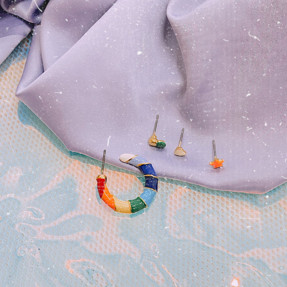 Rainbow Path Earrings