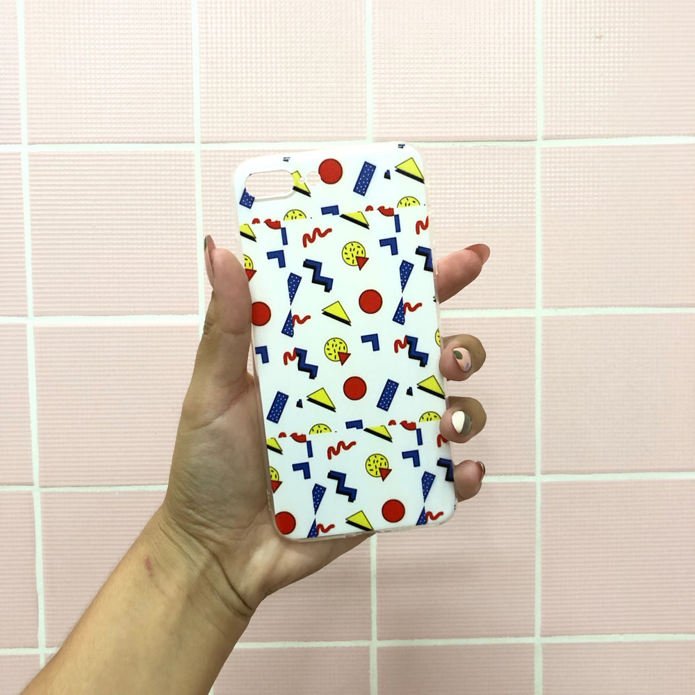 Geo Primary iPhone Case