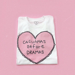 CAGUAMAS BEFORE DRAMAS White T-shirt