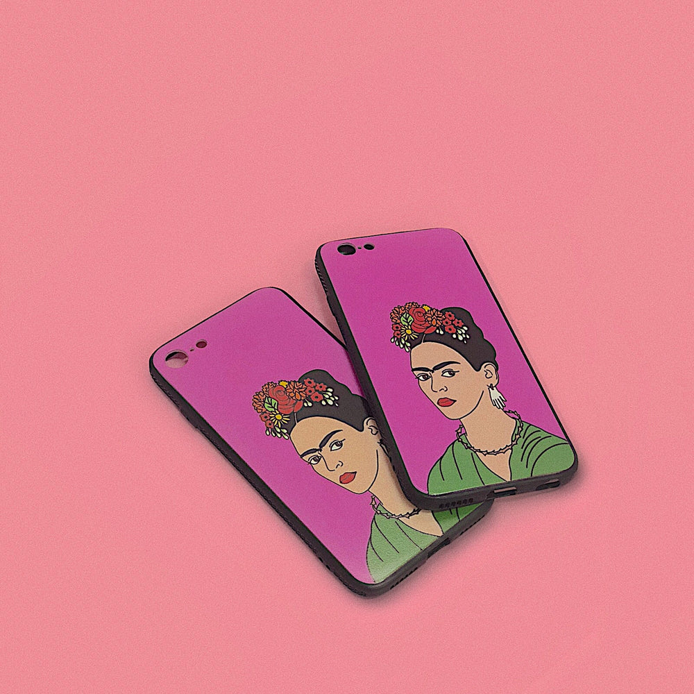 Pink Friducha iPhone Case