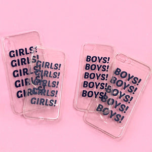 GIRLS BOYS iPhone Case