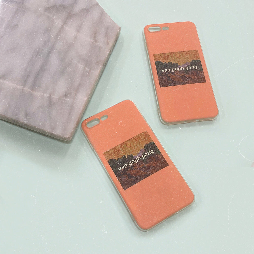 van gogh gang iPhone Case