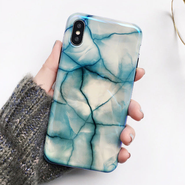 COOL MARBLE iPhone Case