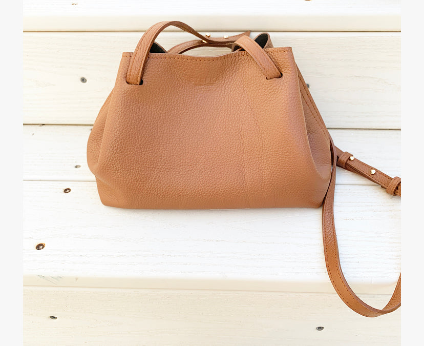 The Stefka Drawstring mini Crossbody