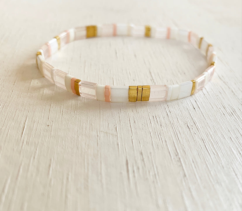 Rosé All Day Stacking Bracelet